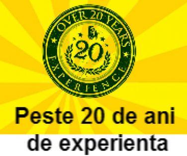20 ani de experienta