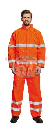 Costum Impermeabil cu Benzi