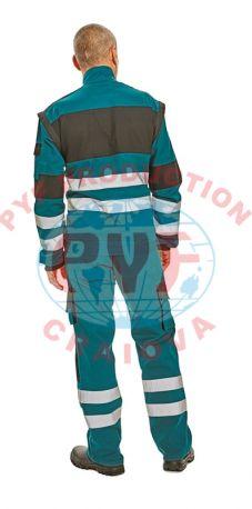 Costum Salopeta Clasica Max Reflex