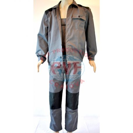 Costum Salopeta cu Pieptar Bazonata in 2 Culori