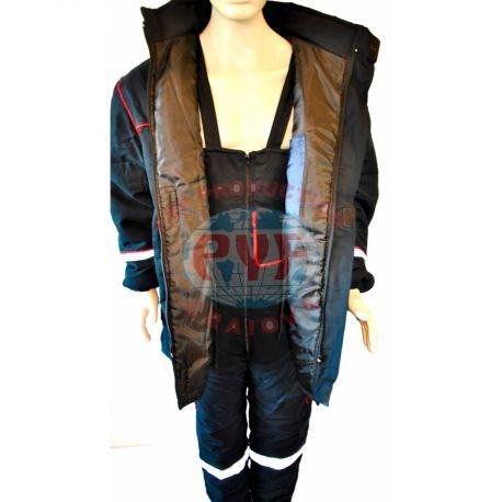 Costum Vatuit cu Insertii si Benzi Reflectorizante