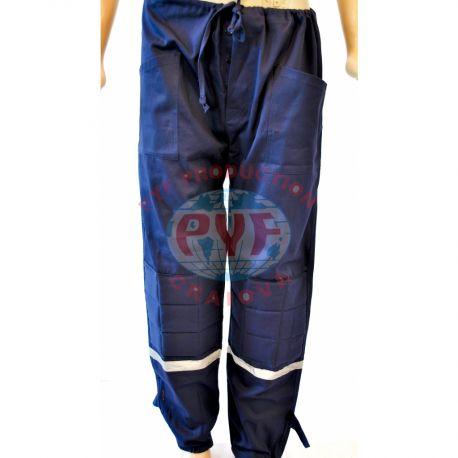 Pantalon Clasic Bazonat cu Benzi