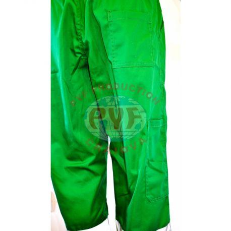 Pantalon Clasic Combinat cu Benzi