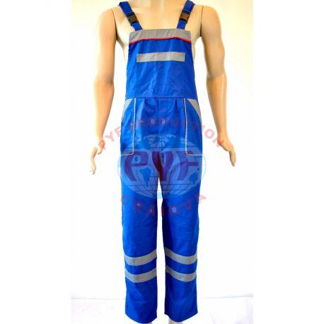 Pantalon cu Pieptar Combinat
