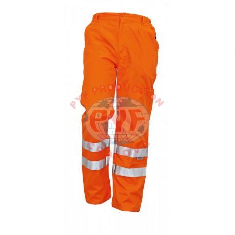 Pantaloni clasici cu benzi