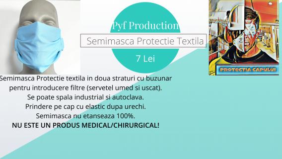 Semimasca textila